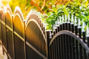 Gartenzaun –sicher und schön